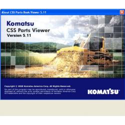 Komatsu CSS Parts Viewer...