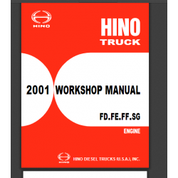 HINO Workshop Manuals...