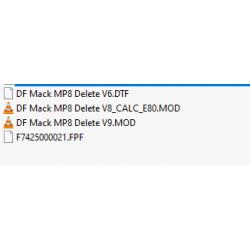 Mack MP8 Delete file