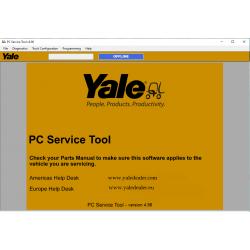 Yale PC Service Tool v4.96