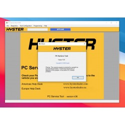 Hyster PC Service Tool v4.96